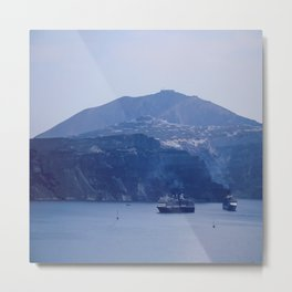 Santorini, Greece 8 Metal Print