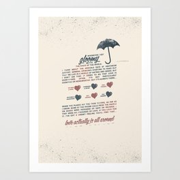 Love Actually Art Print