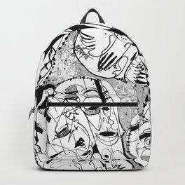 Transformation - b&w Backpack