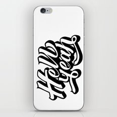 Hell Yeah! iPhone & iPod Skin