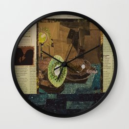 Kiwi Detectives Wall Clock