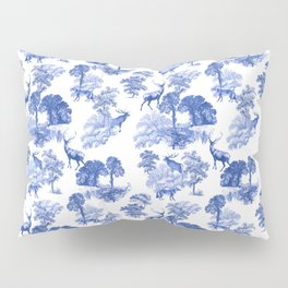 Classical French Toile Countryside Pattern Pillow Sham