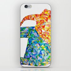 acute elephant iPhone Skin