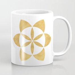 SEED OF LIFE minimal sacred geometry Coffee Mug