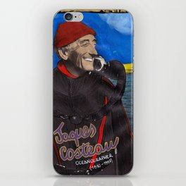 Jacques Cousteau iPhone Skin