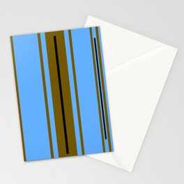Blue Spectrum Stationery Cards