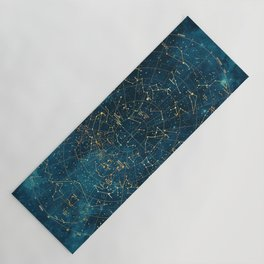 Under Constellations Yoga Mat