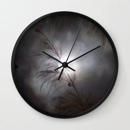Full Moon Branch Wall Clock