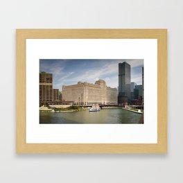 Chicago Cityscape Photos Framed Art Print
