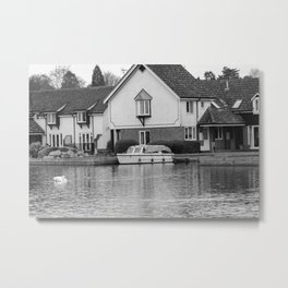 Vacation on the River Bure, Wroxham Metal Print