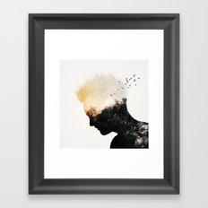 Nature Of The Mind Framed Art Print
