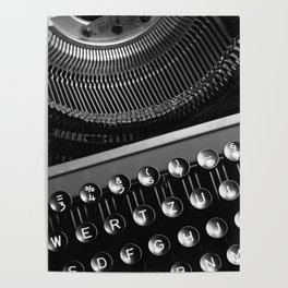 Typewriter NO.2 Poster