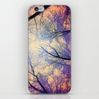 bebop iPhone & iPod Skins featuring Snow Angel's View - Nature's Painting (color 2) by soaring anchor designs