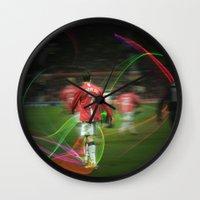 ronaldo Wall Clocks featuring Ronaldo Remix by Shyam13