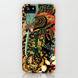 Tiger Hunt iPhone Case