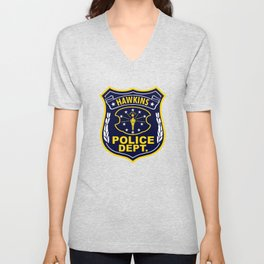 Hawkins Police Department Unisex V-Neck