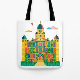 Denton Courthouse Tote Bag