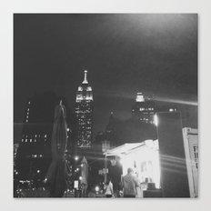 Insomnia City Canvas Print