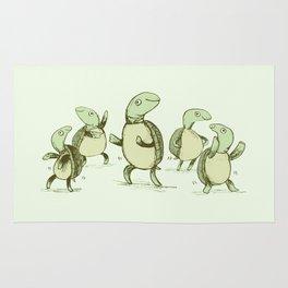 Dancing Turtles Rug