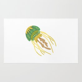 Cute Jellyfish Rug
