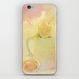 Marshmallow Roses iPhone Skin