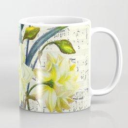 Daffodil Spring Song Coffee Mug