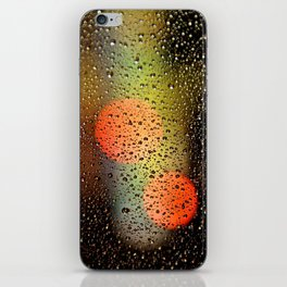 Rain Drops and Color Pops iPhone Skin