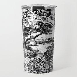 Childs' Dwarf Nasturtiums 1895 Travel Mug