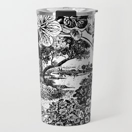 Childs' Dwarf Nasturtiums 1895 Travel Mug