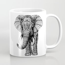 Ornate Elephant Coffee Mug