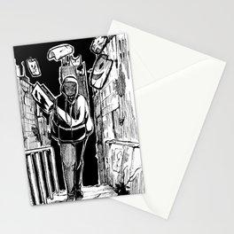 city boy Stationery Cards