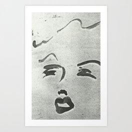 Glam 2 Art Print