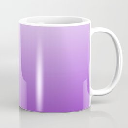 White to Violet Gradient Coffee Mug