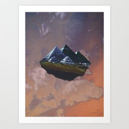 Egypt Flys Away Art Print
