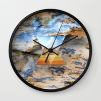 egypt Wall Clocks featuring EGYPT by sametsevincer