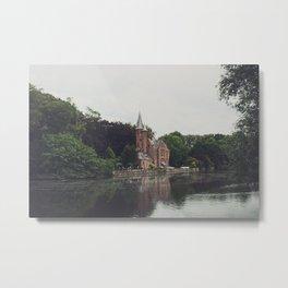 Brugges Metal Print