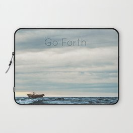 Go Forth Laptop Sleeve