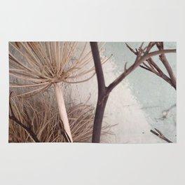 Agapanthus bouquet Rug