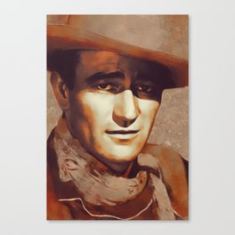 John Wayne, Hollywood Legend Canvas Print