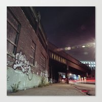 chelsea Canvas Prints featuring CHELSEA by Ben Foster