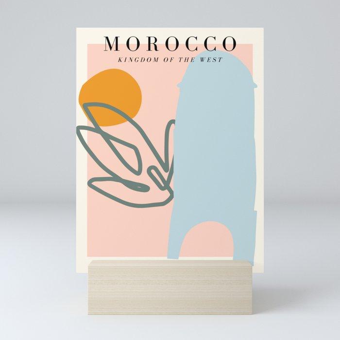 Morocco Exhibition Mini Art Print