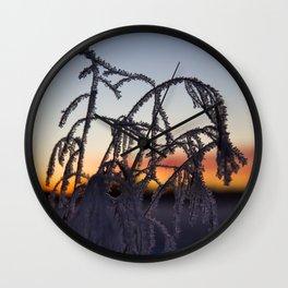Frost I Wall Clock