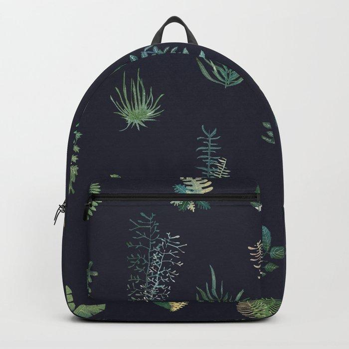 green garden at nigth Backpack