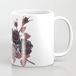 Black roses - Vintage rose print Coffee Mug