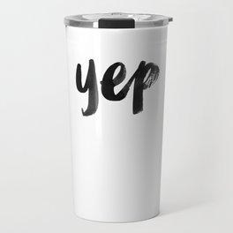yep Travel Mug
