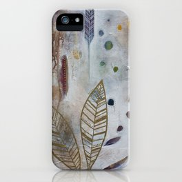 Luna Leaf iPhone Case