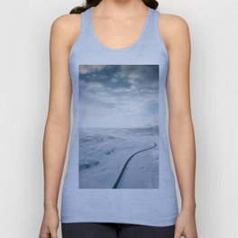 road in iceland Unisex Tank Top