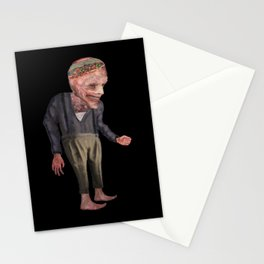 the man with candy Stationery Cards