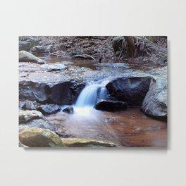 Curtis Falls Cascades Metal Print