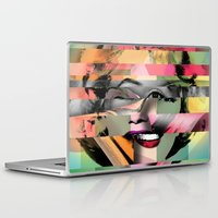 marilyn Laptop & iPad Skins featuring Marilyn by mark ashkenazi